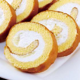 こだわり卵のロールケーキ