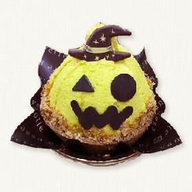 ハロウィンかぼちゃのケーキ
