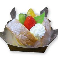 フルーツのデザートロールカップ