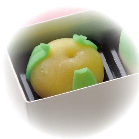 雛上生菓子 橘
